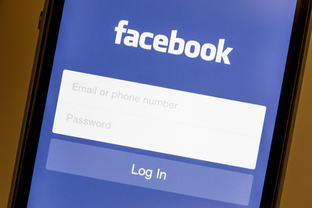 Facebook login on Apple iPhone