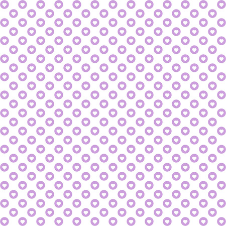 heats: Background of seamless dots pattern