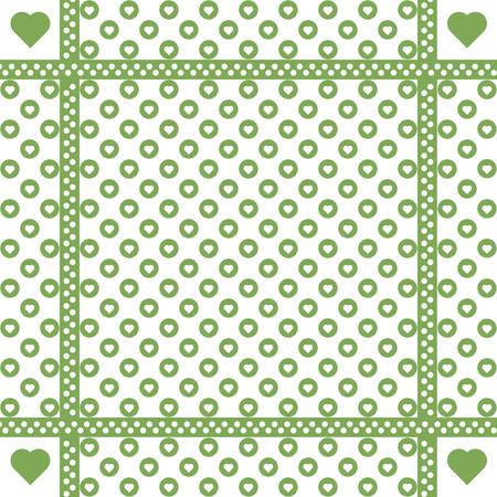 heats: Background of seamless dots pattern