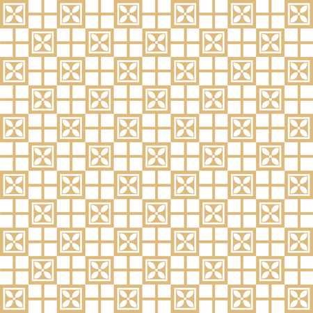 Background of Seamless Plaid Pattern Vector