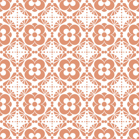 curvature: Background of seamless floral pattern