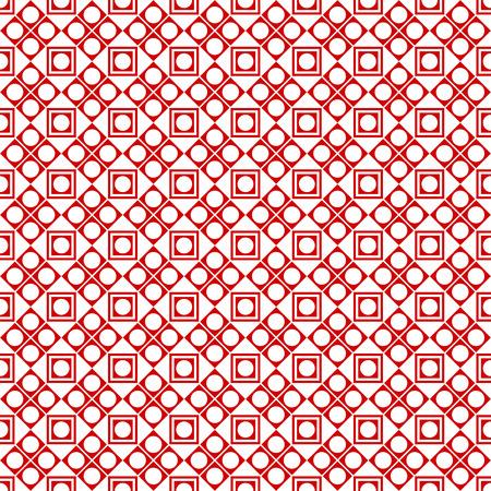 seamless geometric: Sullo sfondo di disegno geometrico senza soluzione di continuit� Vettoriali