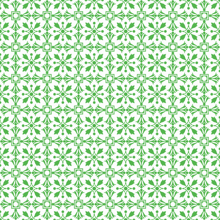 dots pattern: Background of seamless floral pattern