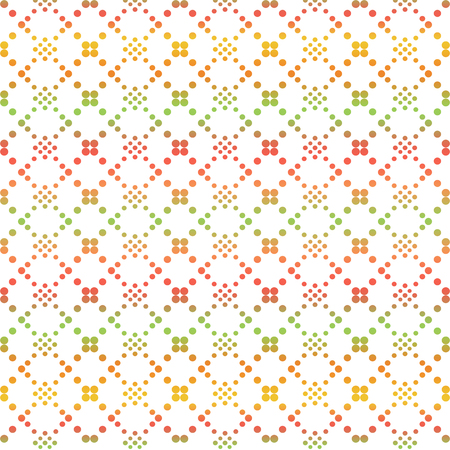 classic contrast: Background of seamless dots pattern