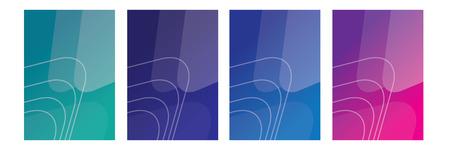 det of flyer,cover,brochure,poster or banner template design with abstract geometric shape background Ilustração