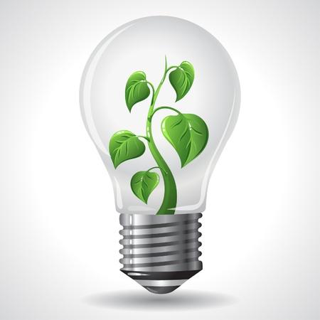 Green Energy Concept Illustration Vector
