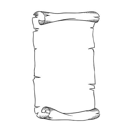 scroll?: Vector marco de bandera Vectores