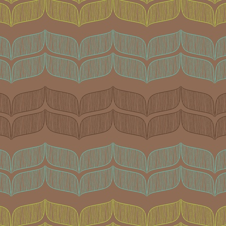 Vector seamless abstract pattern  Template for design  Vector