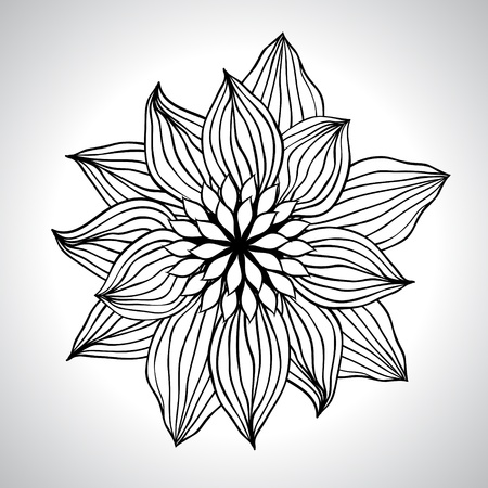 Estratto floreale elemento di sfondo per la progettazione