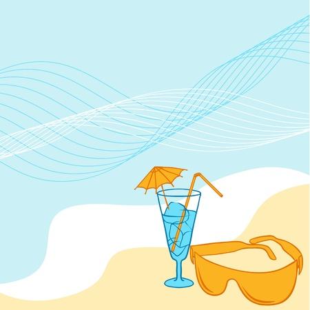 Travel background for you design collor Illustration Stock Vector - 13465026