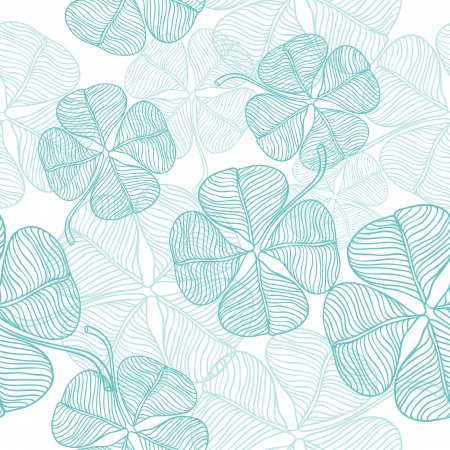 clover backdrop:  abstract clover   Seamless Pattern  Illustration