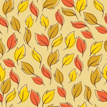 Autumn macro leaf of maple   Vector