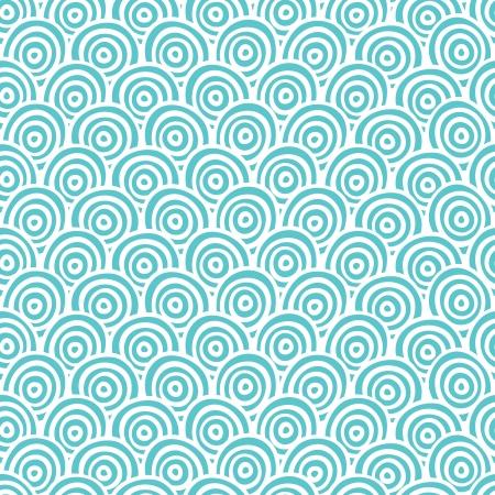 papel tapiz turquesa: La mano abstracta sin fisuras patrón dibujado Vectores