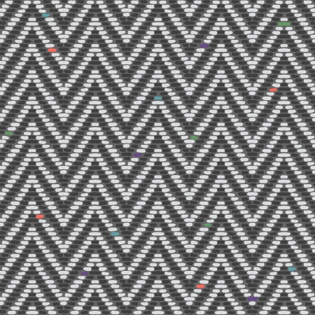 seamlessly: Tweed disegno a spina di pesce in grigi si ripete senza soluzione di continuit� Vettoriali