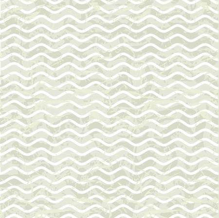 scratch card: Seamless wave hand drawn pattern  Abstract vintage background