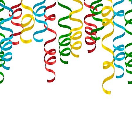 serpentinas: Serpentinas brillantes gradiente o parte de patrones sin fisuras de serpentina