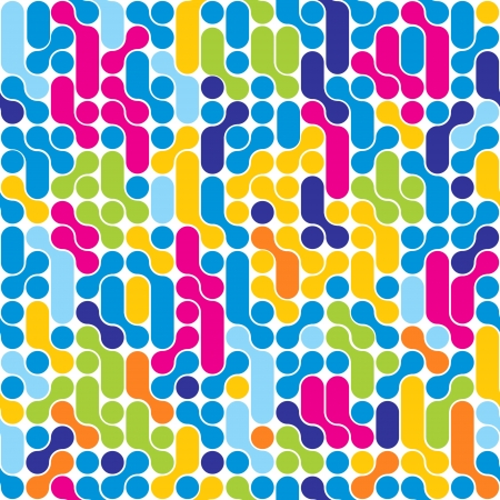 Seamless abstract pattern  Stylish geometric background  Stock Vector - 14920837