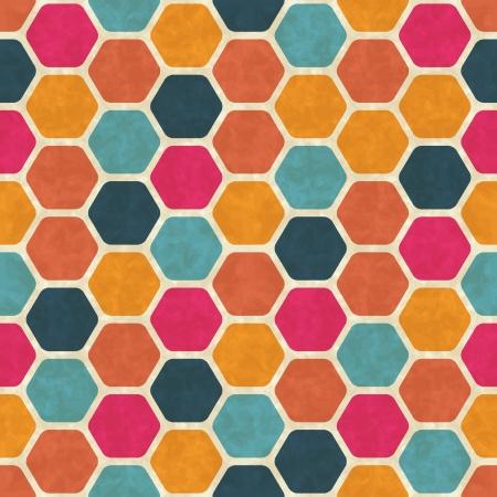 Seamless retro geometric pattern Stock Vector - 14920884