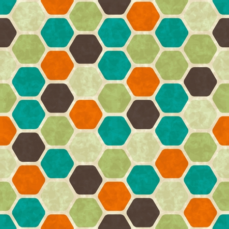 Seamless retro geometric pattern  Stock Vector - 14920882