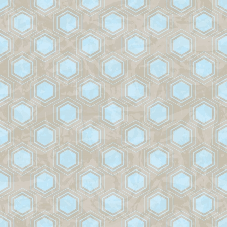 Seamless abstract retro pattern  Stylish geometric background  Vector
