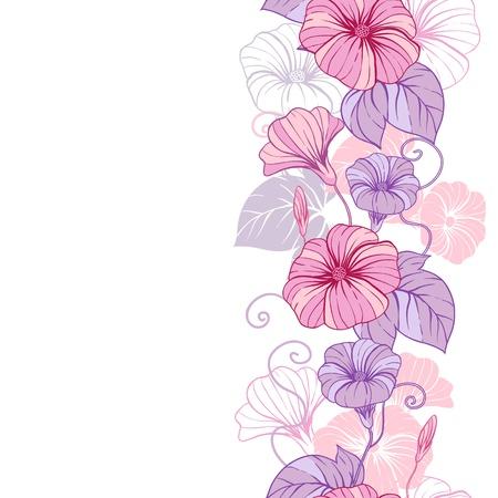 papel tapiz turquesa: Elegante dise�o abstracto de fondo floral de las flores Vectores