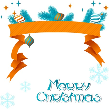 Merry Christmas background in retro style Stock Vector - 15348481