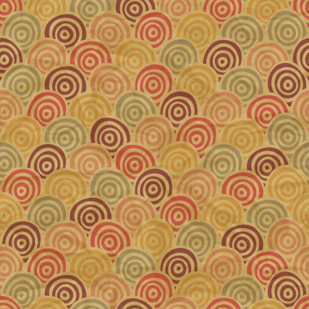 retro seamless pattern on vintage old paper Stock Vector - 15759823