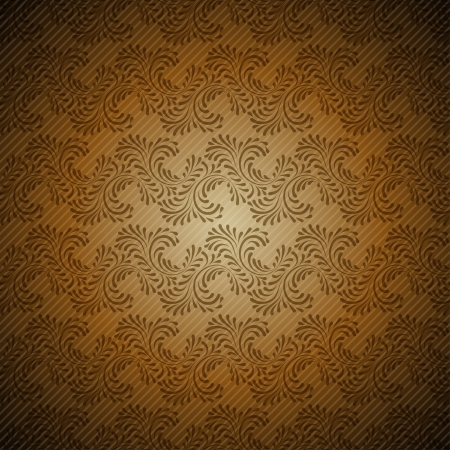 Seamless vintage wallpaper, floral pattern, retro wallpaper Stock Vector - 15809995