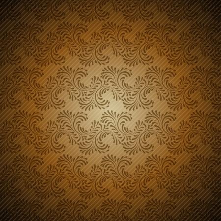 Seamless vintage wallpaper, floral pattern, retro wallpaper Stock Vector - 15809995