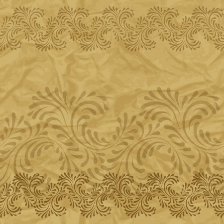 Seamless vintage wallpaper, floral pattern, retro wallpaper  Stock Vector - 15809992
