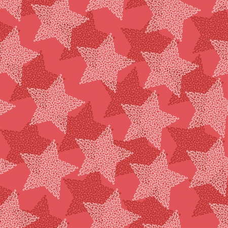 hollidays: Christmas and Hollidays seamless pattern with stars  Illustration