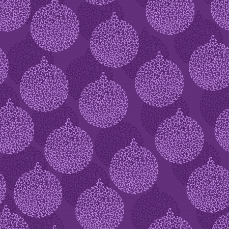 hollidays: Christmas and Hollidays seamless pattern with balls  Illustration