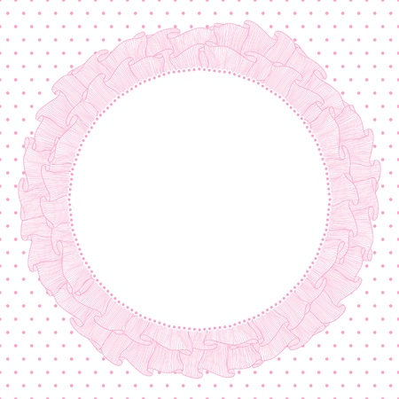Lace and frills  hand drawn vector background Stock Vector - 15997431