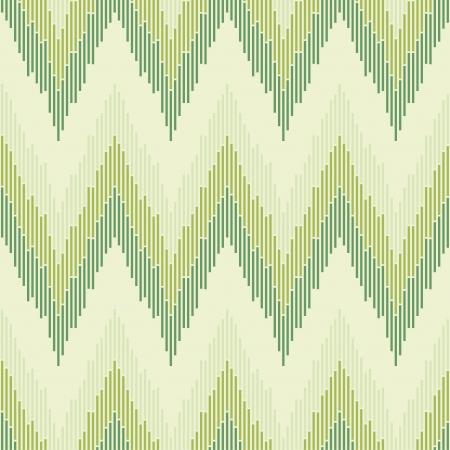 cubismo: Zigzag en textura de color verde transparente