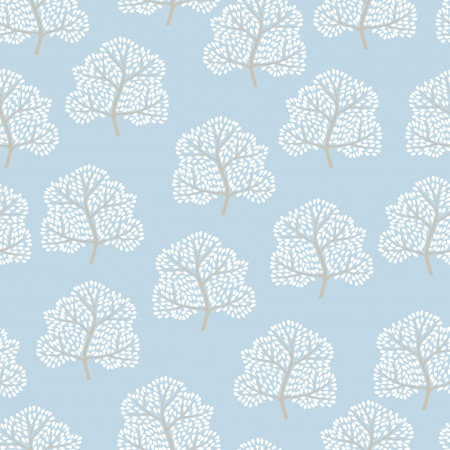 wrapper: Winter trees seamless pattern  Abstract season background   Illustration