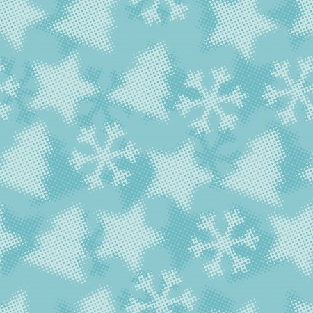 Christmas and Holidays seamless pattern  Vector