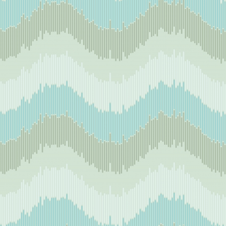 Strips abstract wave pattern  Seamless geometric texture Stock Vector - 16519020