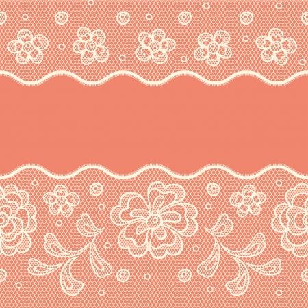 Nahtlose Lochmuster, flower vintage vector Hintergrund.