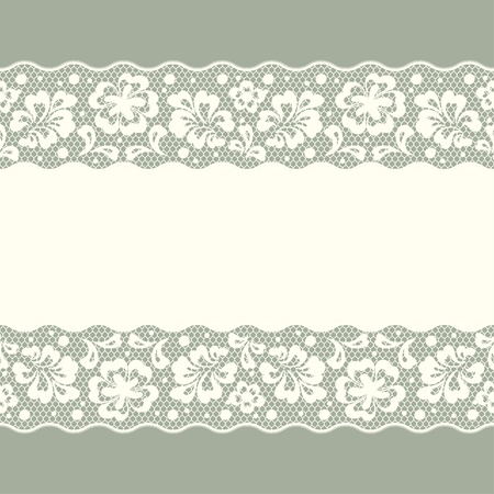 lace vector: Seamless lace pattern, flower vintage vector background.