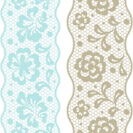 plant cell: Seamless lace pattern, flower vintage vector background.