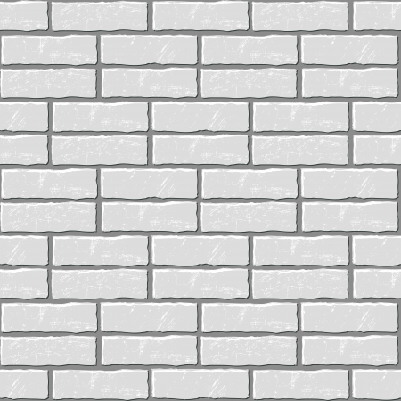revetment: Seamless vector background of the brick wall