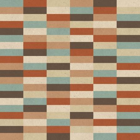 Seamless retro geometric pattern on paper texture Stock Photo - 17160935