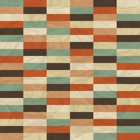 Seamless retro geometric pattern  Stock Vector - 17160953