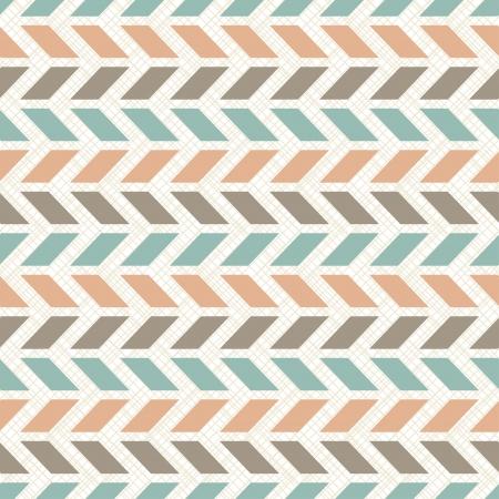 Seamless retro geometrisch patroon