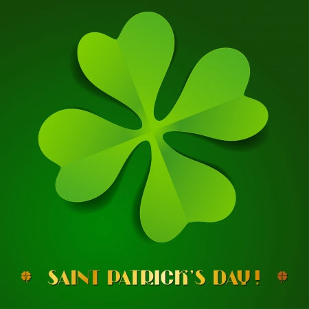 Saint Patrick s Day background Stock Vector - 17417715