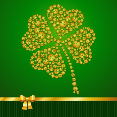 Saint Patrick s Day background Stock Vector - 17417710