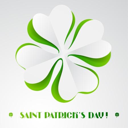 Saint Patrick s Day background Stock Vector - 17405478
