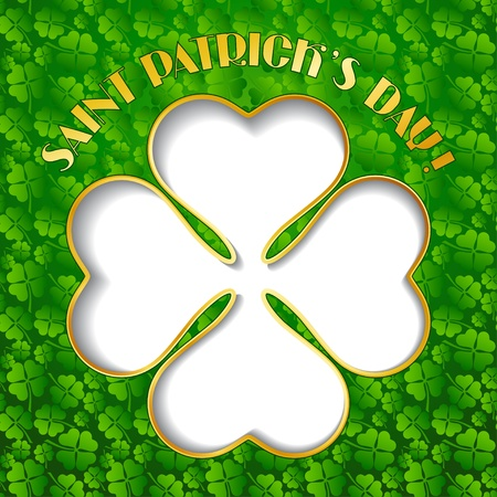 Saint Patrick s Day background  Stock Vector - 17417708