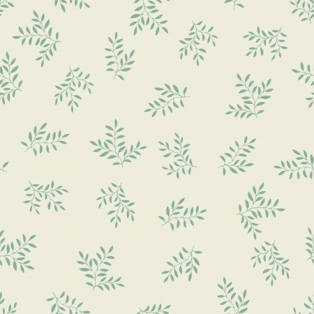 Seamless pattern with leaves Stock Vector - 17449613