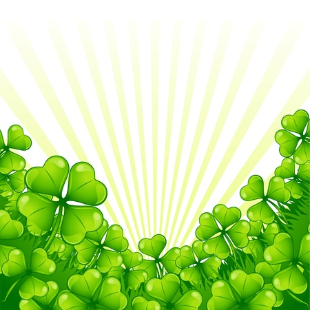 Greeting card for Saint Patrick s day  Stock Vector - 17539718